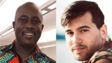 Pius Adesanmi and Micah Messent