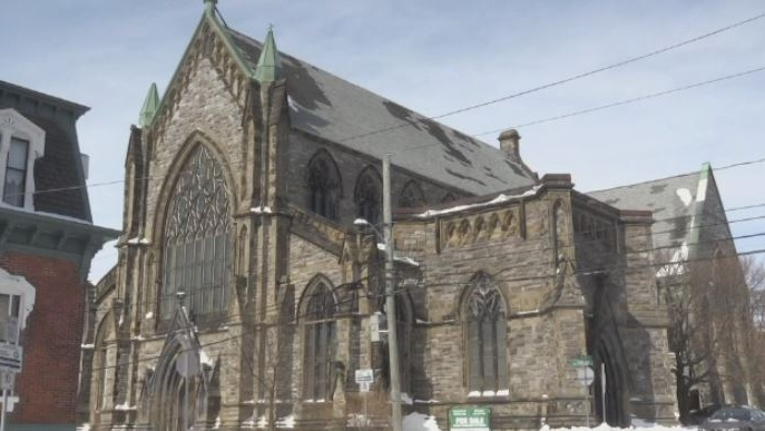 Built on one of the highest points in the city, the Gothic Arches has been a landmark in Saint John's south end for more than 140 years.