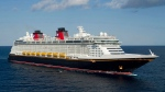This undated photo courtesy of David Roark for Disney shows the 4,000-passenger Disney Dream cruise ship. (AP/Disney, David Roark)