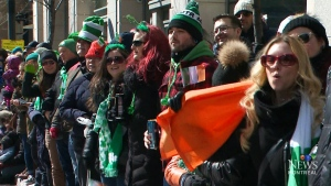 CTV Montreal: Paddy's Day parade