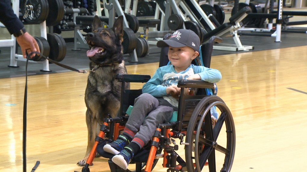 Kids fight crime, not cancer, for a day with RCMP