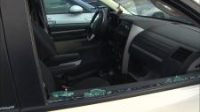 vehicle window broken