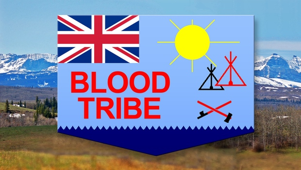 Blood Tribe flag