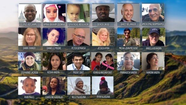 Canadian victims of Ethiopia plance crash