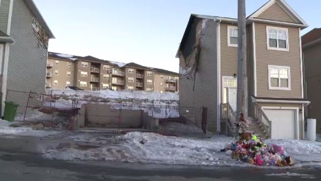 A Halifax home was demolished on March 12, 2019, three weeks after a devastating house fire claimed the lives of seven children.