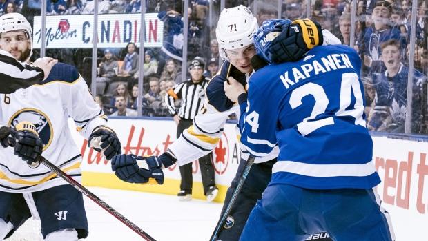 3e4e35ea4 Toronto Maple Leafs winger Kasperi Kapanen sidelined with a ...