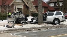 Etobicoke crash