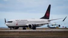 Air Canada Boeing 737 Max aircraft