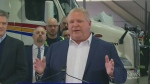 Doug Ford unveils environmental plan in Cambridge
