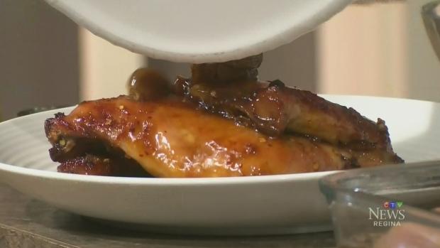 24 clove garlic honey maple chicken