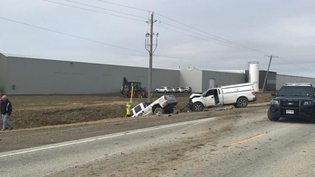 Highway 77 Crash