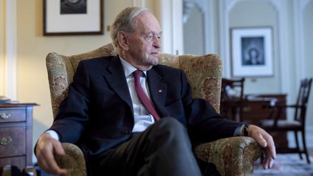Former prime minister Jean Chretien