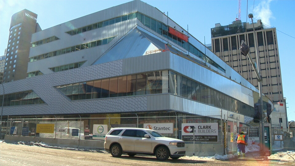 The new Stanley A. Milner Library will open in 2020. (File)