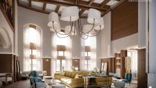 Fairmont Hotel Macdonald rendering