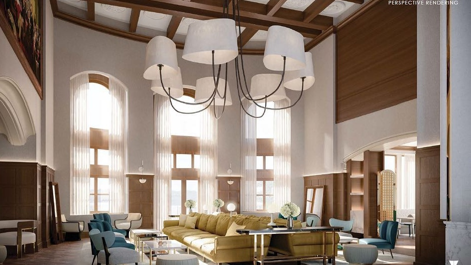 Rendering of renovation planned for Hotel Macdonald. (Courtesy: Fairmont Hotel Macdonald)