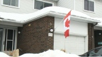 Soldier told to take down Canadian flag