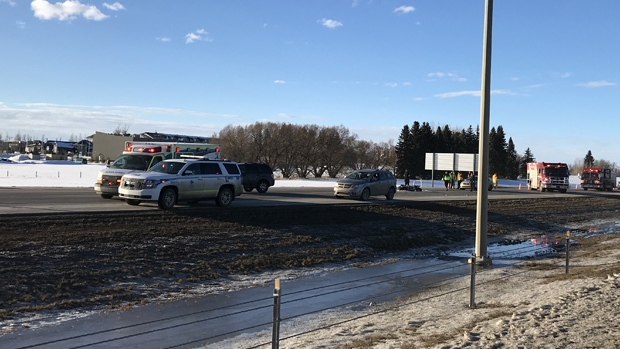 Henday motorcycle crash March 13