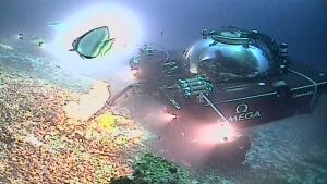 A submersible from the Ocean Zephyr