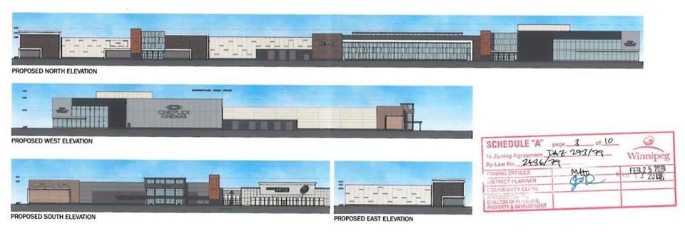 The proposed changes to Kildonan Place. Source: City of Winnipeg