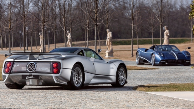 Pagani Zonda C12 and Huayra Roadster