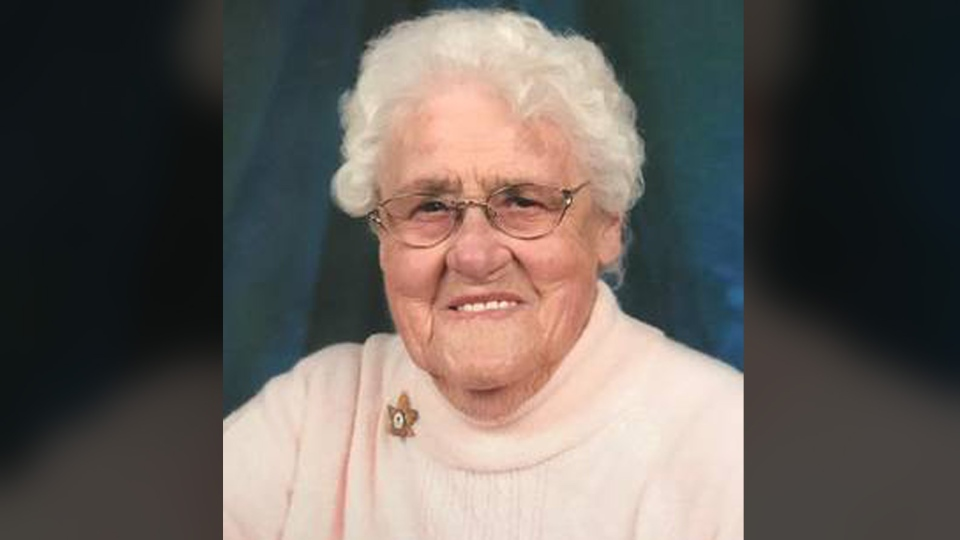 Gwendolyn Tobin died at the age of 102 in Cape Breton, N.S. on Monday.