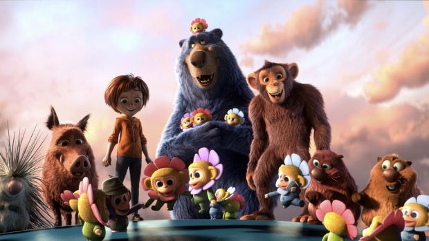 A scene from the animated film 'Wonder Park.' (Paramount Animation via AP)