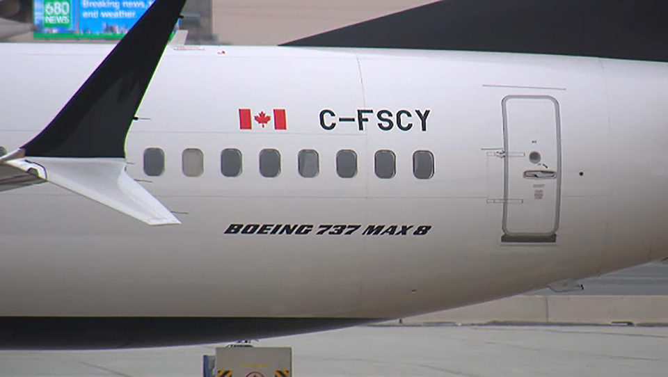 Canadian skies have been closed to the Boeing 737 MAX 8 aircraft over safety concerns arising from the crash of an Ethiopian Airlines flight. (File Photo)