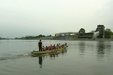 The dragon boat teams need to practice at Parc Jean-Drapeau because competitions are held there. (July 29, 2009)
