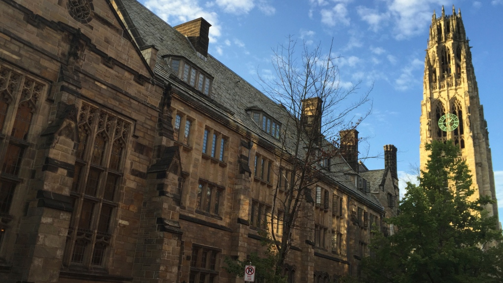 Yale Harkness Tower