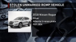 Unmarked RCMP vehicle and loaded gun stolen.