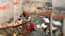 Graffiti, drug paraphernalia and more