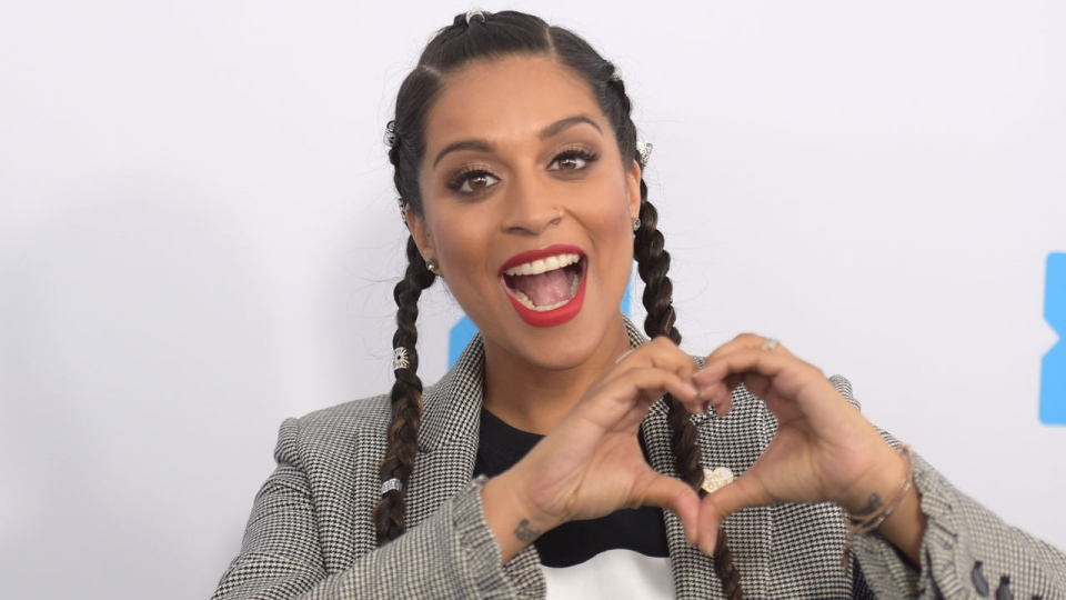 In this April 19, 2018 file photo, Lilly Singh arrives at WE Day California at The Forum in Inglewood, Calif. (Photo by Richard Shotwell/Invision/AP, File)