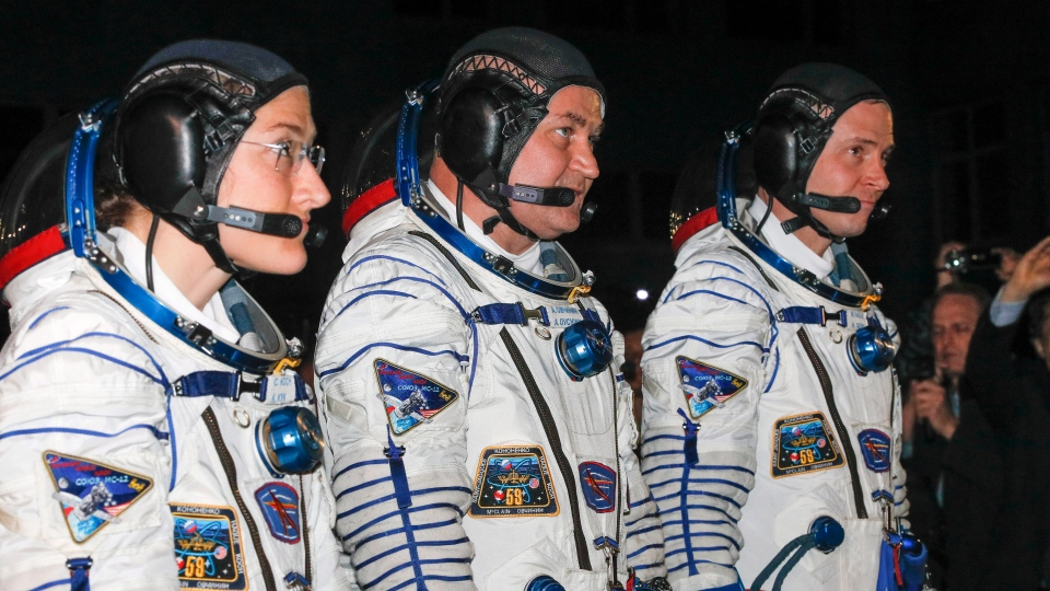 soyuz astronauts