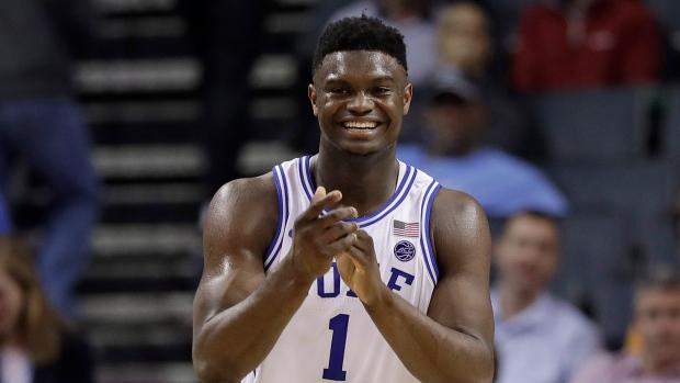 4595e5cc2be Duke freshman star Zion Williamson returns -- with new Nikes