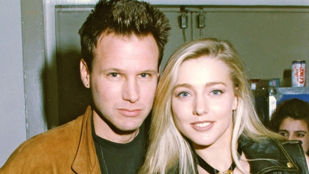 Corey Hart and his wife Julie Masse