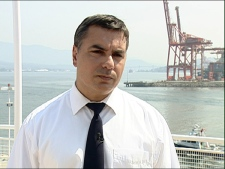 Harbour master Yoss Leclerc says there has not been any impact on wildlife reported yet. July 30, 2009. (CTV)