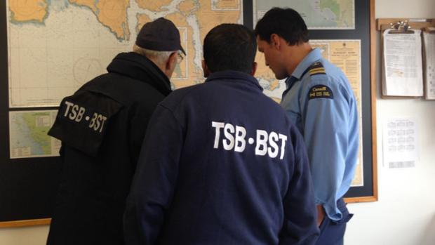 TSB investigators