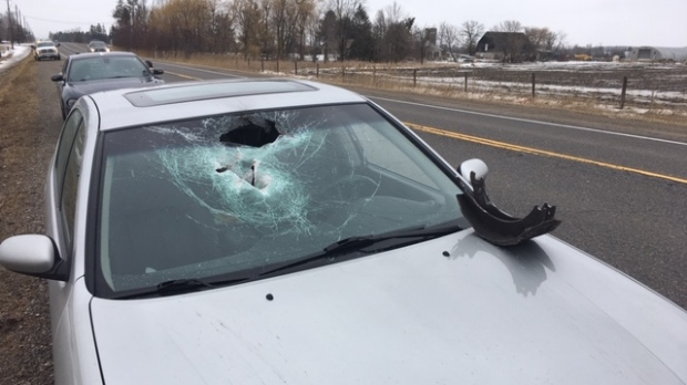 Collision in Caledon