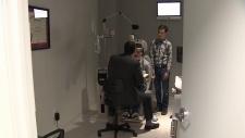 Dr. Trevor Graham with Tyler & Connor Sutton.