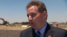 Canada's ambassador to Ethiopia, Antoine Chevrier