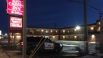 Police responded to reports of a suspicious death at the Red Carpet Inn & Suites on March 15, 2019.