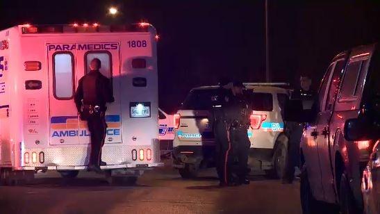 Police investigate a shooting in Regina