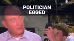 Teen cracks egg on far-right Australian senator