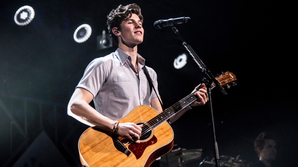 In this file photo, Shawn Mendes performs at Y100's Jingle Ball at BB&T Center on Sunday, Dec. 16, 2018, in Sunrise, Fla. THE CANADIAN PRESS/AP, Amy Harris/Invision
