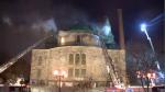 Côté Pierre Vicaire Episcopal church fire