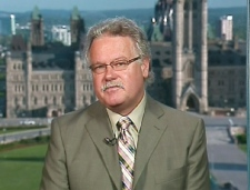 Dr. David Butler-Jones, chief public health officer, speaks on Canada AM from CTV's studios in Ottawa, Thursday, July 30, 2009.