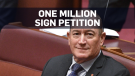 Petition launched to remove far-right senator