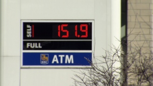 The price of gas is hovering around $1.51 per litre for most stations around Metro Vancouver.
