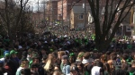 Massive St. Patrick's Day party in Waterloo