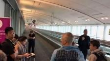Pearson Airport fire
